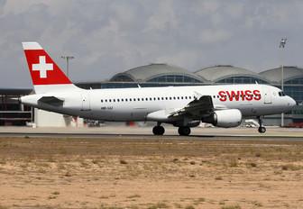 HB-IJJ - Swiss Airbus A320