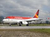 PR-AVH - Avianca Brasil Airbus A318 aircraft