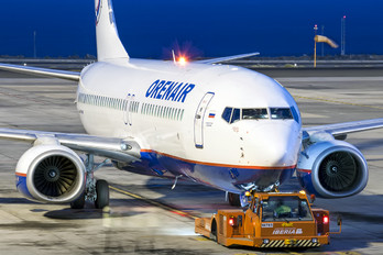 VQ-BCJ - Orenair Boeing 737-800
