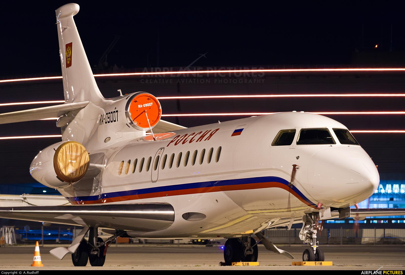 Rossiya RA-09007 aircraft at Paris - Charles de Gaulle