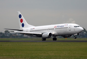 YU-ANI - JAT Airways Boeing 737-300