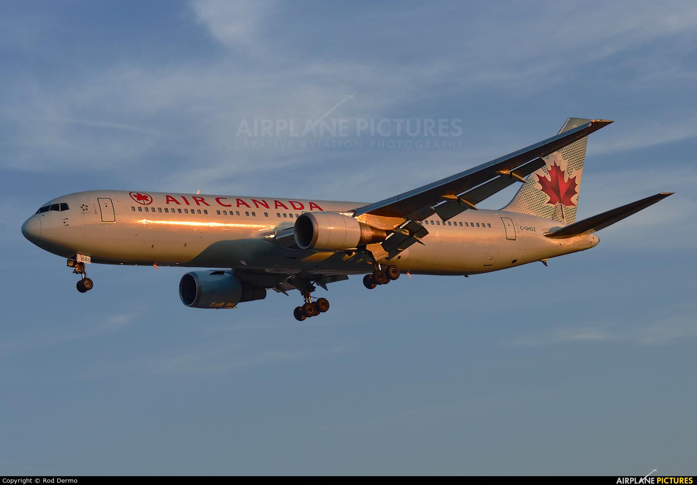 Air Canada C-GHOZ aircraft at Toronto - Pearson Intl, ON