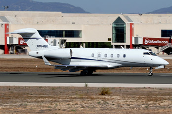 N184BK - Private Bombardier BD-100 Challenger 300 series