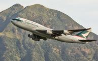 B-HUG - Cathay Pacific Boeing 747-400 aircraft