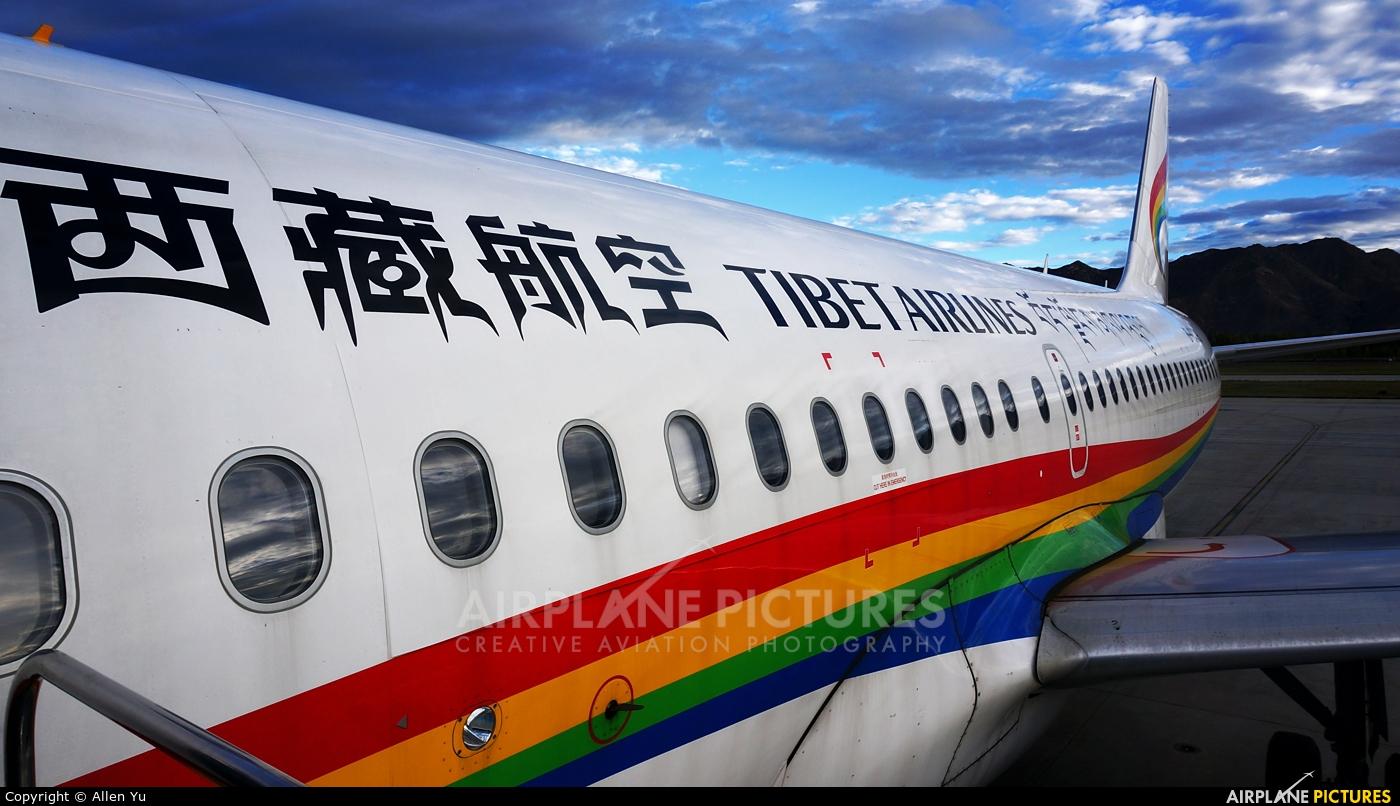Tibet Airlines B-6436 aircraft at Lhasa - Gonggar