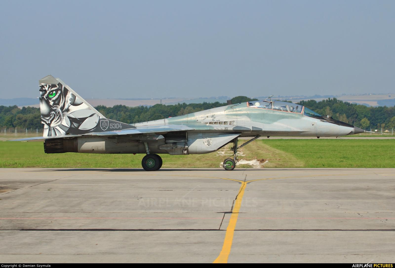 Slovakia -  Air Force 5304 aircraft at Ostrava Mošnov