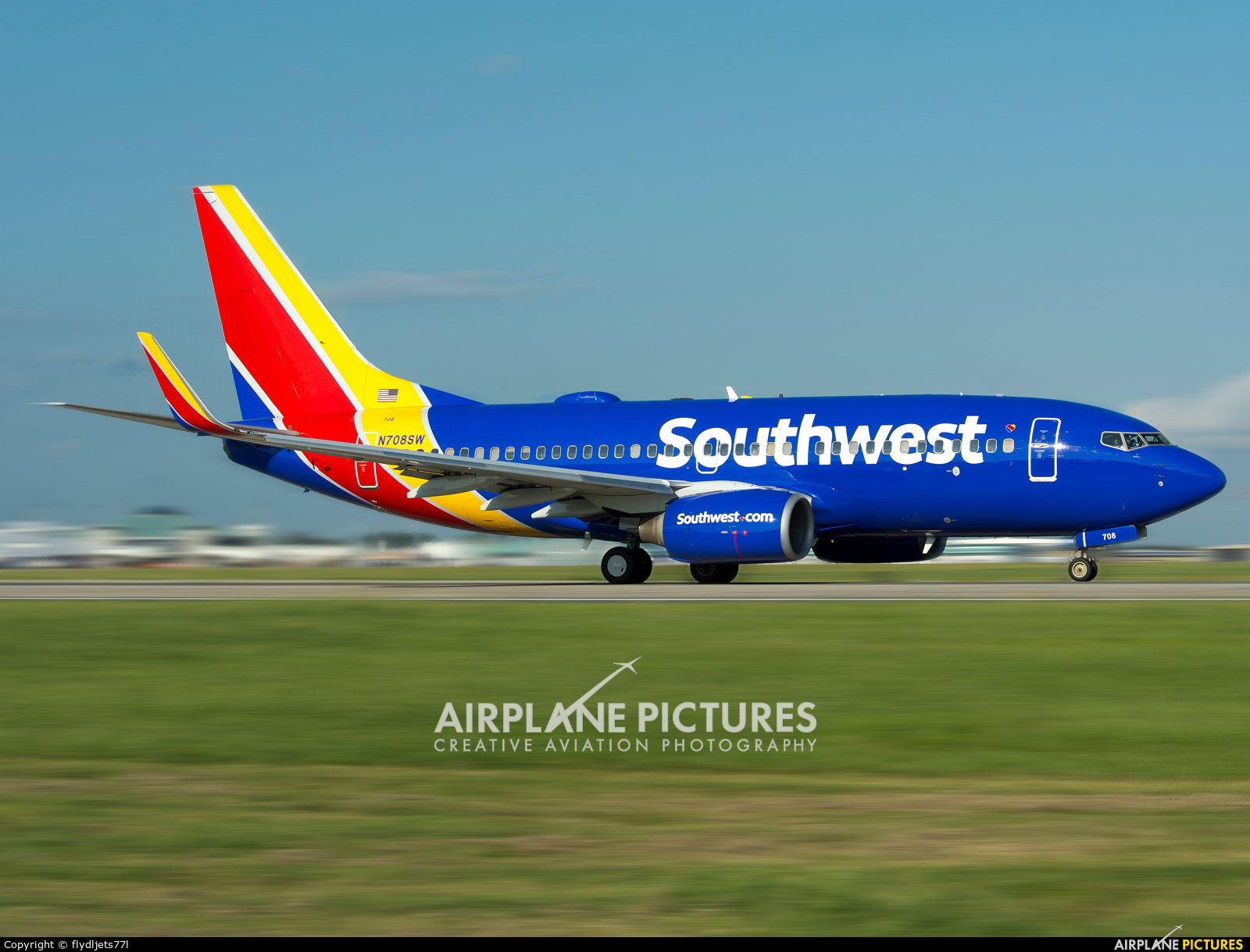 Southwest Airlines New Livery