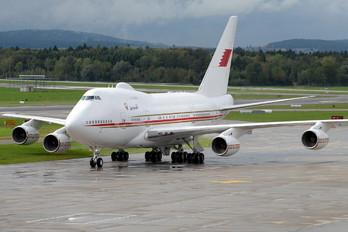 A9C-HAK - Bahrain Amiri Flight Boeing 747SP