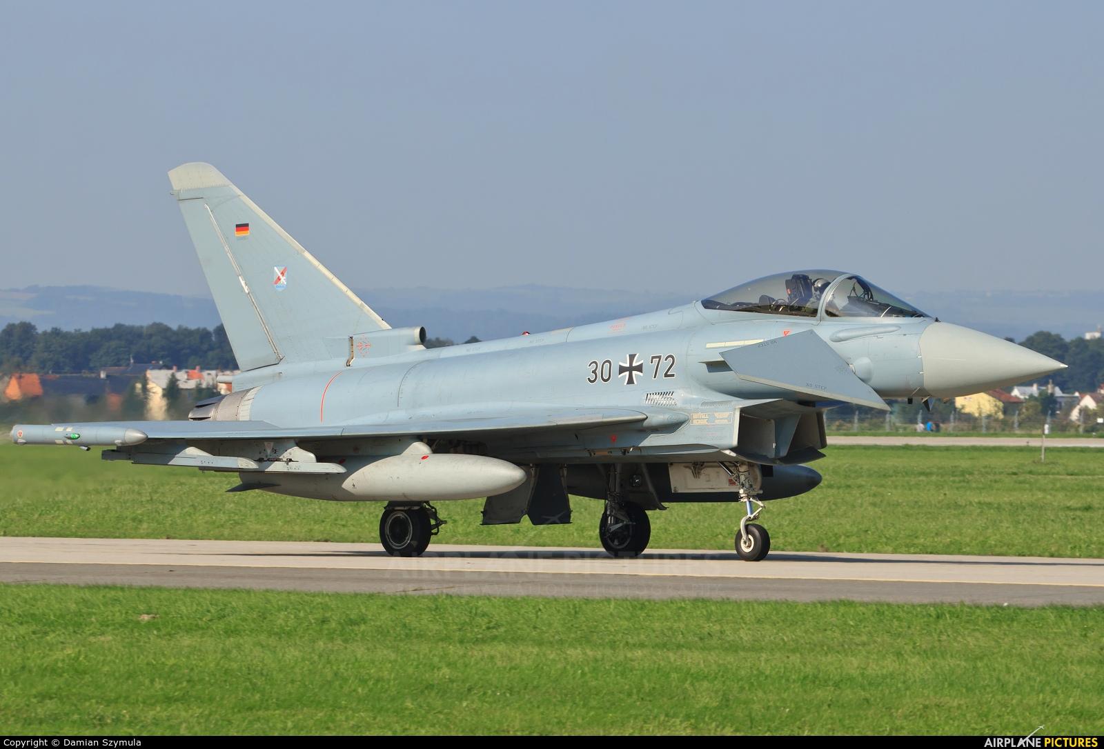 Germany - Air Force 30+72 aircraft at Ostrava Mošnov