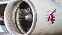 A7-BFB - Qatar Airways Cargo Boeing 777F aircraft