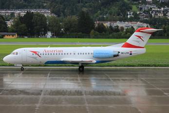 OE-LFR - Austrian Airlines/Arrows/Tyrolean Fokker 70