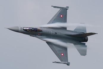 E-007 - Denmark - Air Force General Dynamics F-16A Fighting Falcon