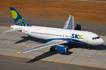 CC-AID - Sky Airlines (Chile) Airbus A320