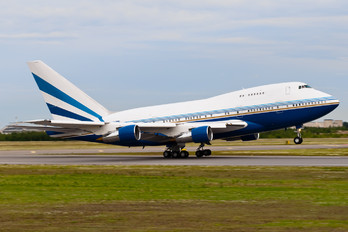 VQ-BMS - Private Boeing 747SP