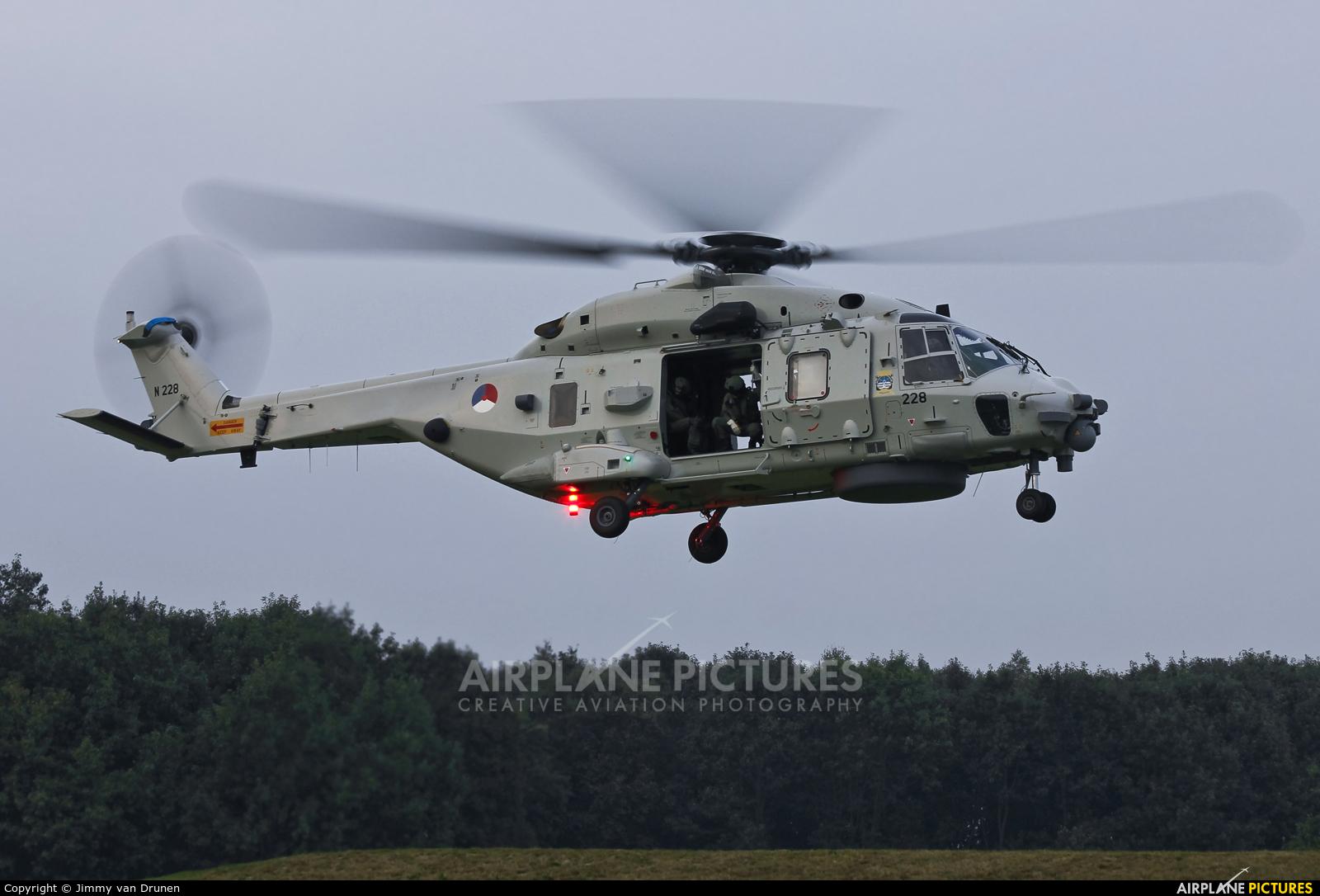 Netherlands - Navy N-228 aircraft at Gilze-Rijen