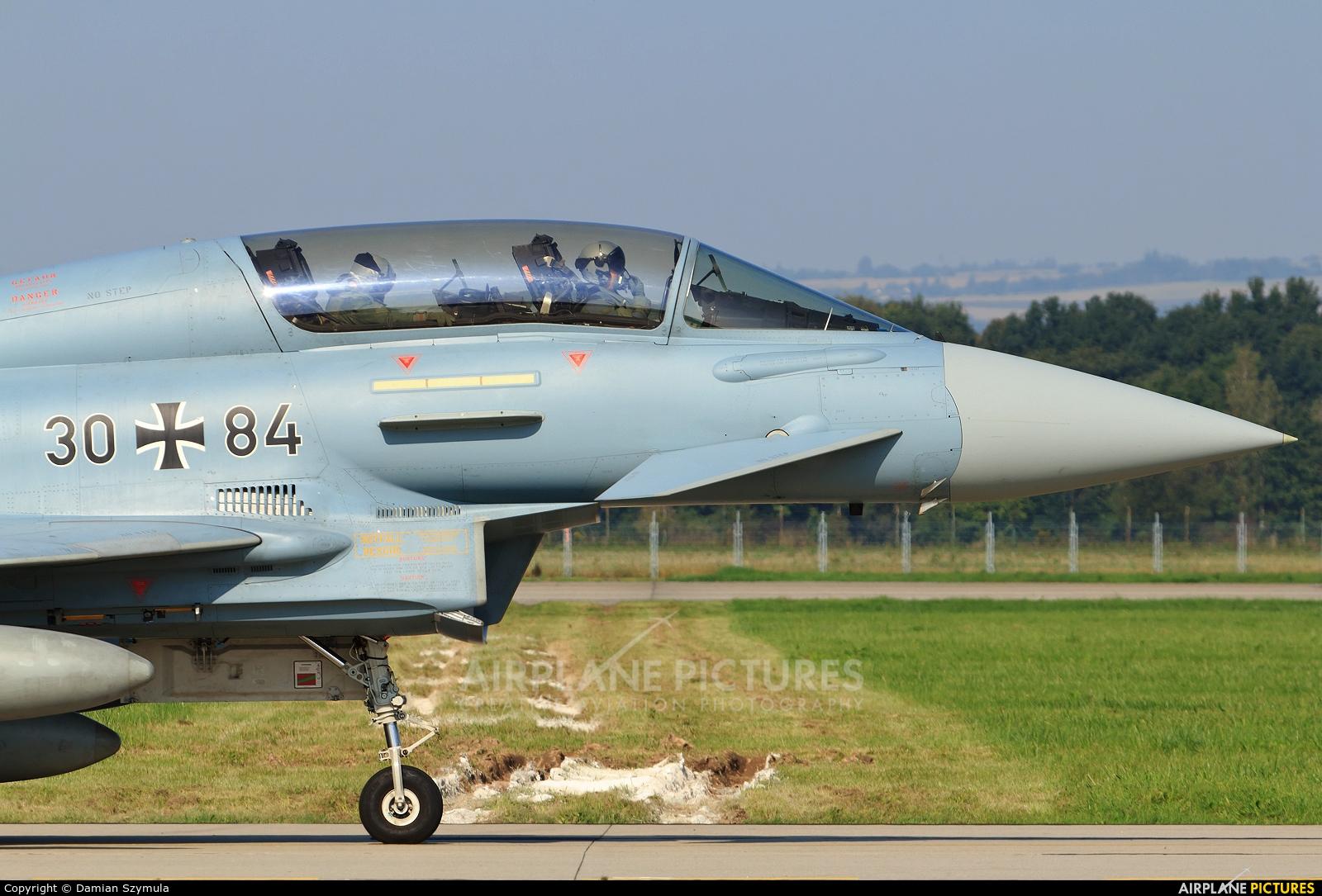 Germany - Air Force 30+84 aircraft at Ostrava Mošnov