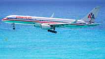 N172AJ - American Airlines Boeing 757-200 aircraft