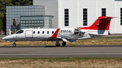 N165AL - Private Learjet 31