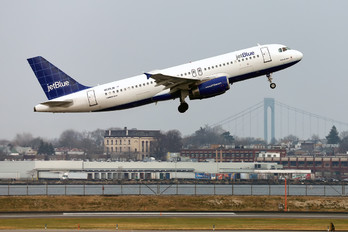 N535JB - JetBlue Airways Airbus A320