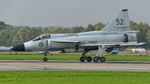 SE-DXN - Swedish Air Force Historic Flight SAAB AJS 37 Viggen aircraft