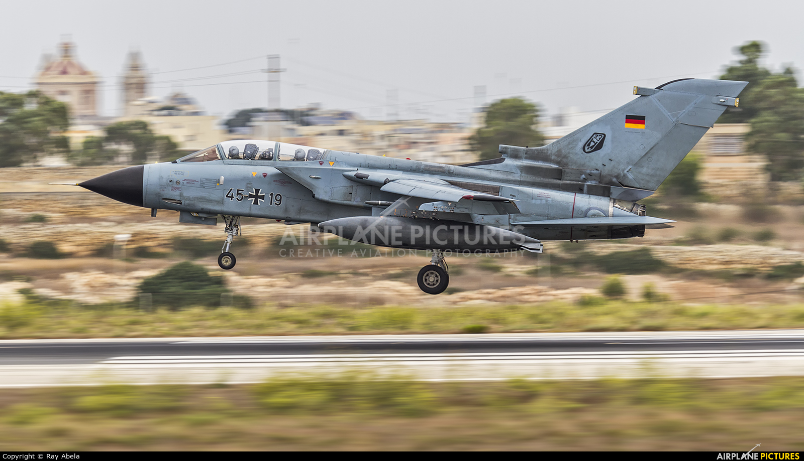 Germany - Air Force 45+19 aircraft at Malta Intl