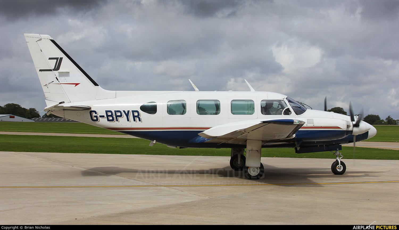 Synergy Aircraft Leasing G-BPYR aircraft at Northampton / Sywell