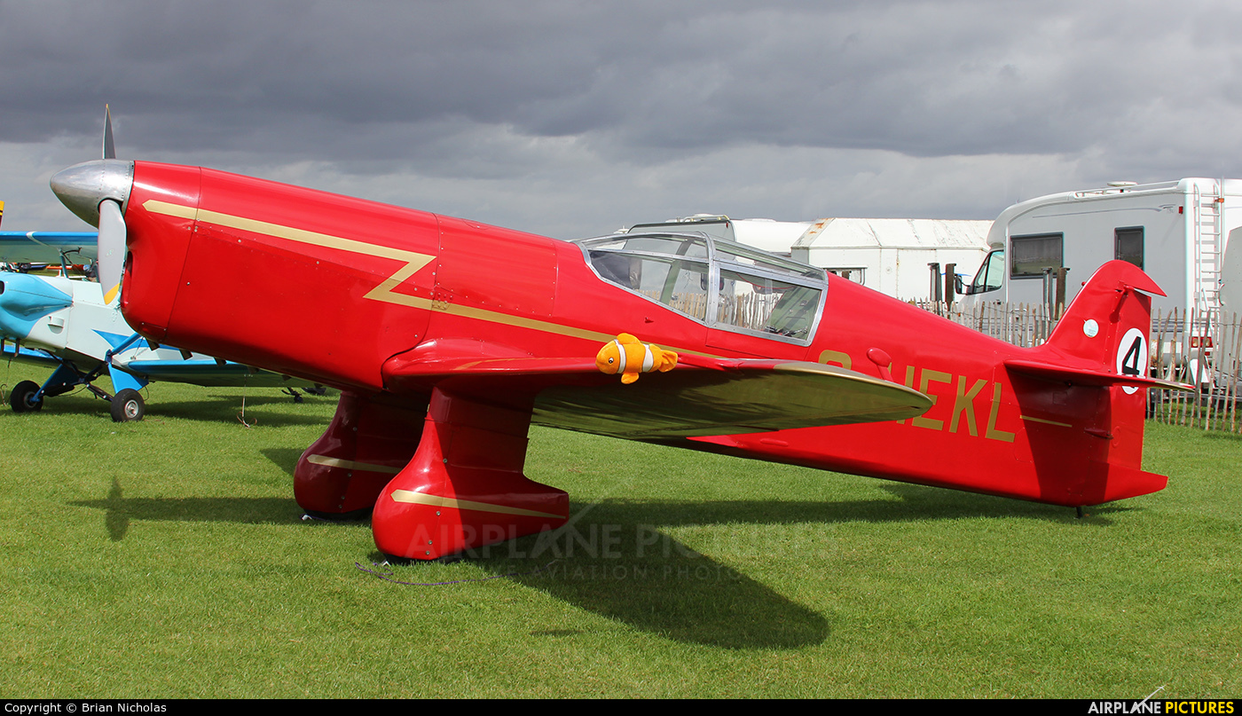 Private G-HEKL aircraft at Northampton / Sywell