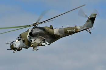 7356 - Czech - Air Force Mil Mi-24V