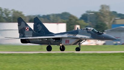 89 - Poland - Air Force Mikoyan-Gurevich MiG-29A