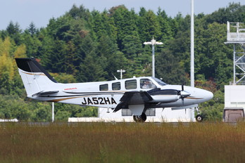 JA52HA - Honda Aerospace Beechcraft 58 Baron
