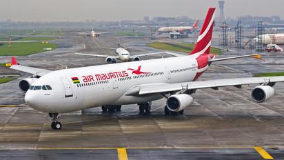 3B-NBU - Air Mauritius Airbus A340-300