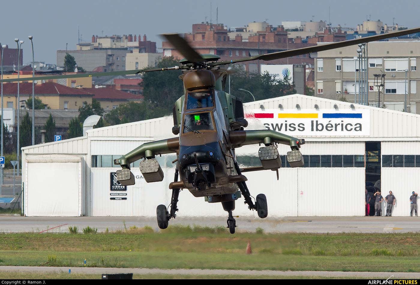 Spain - Army HA.28-04 aircraft at Sabadell