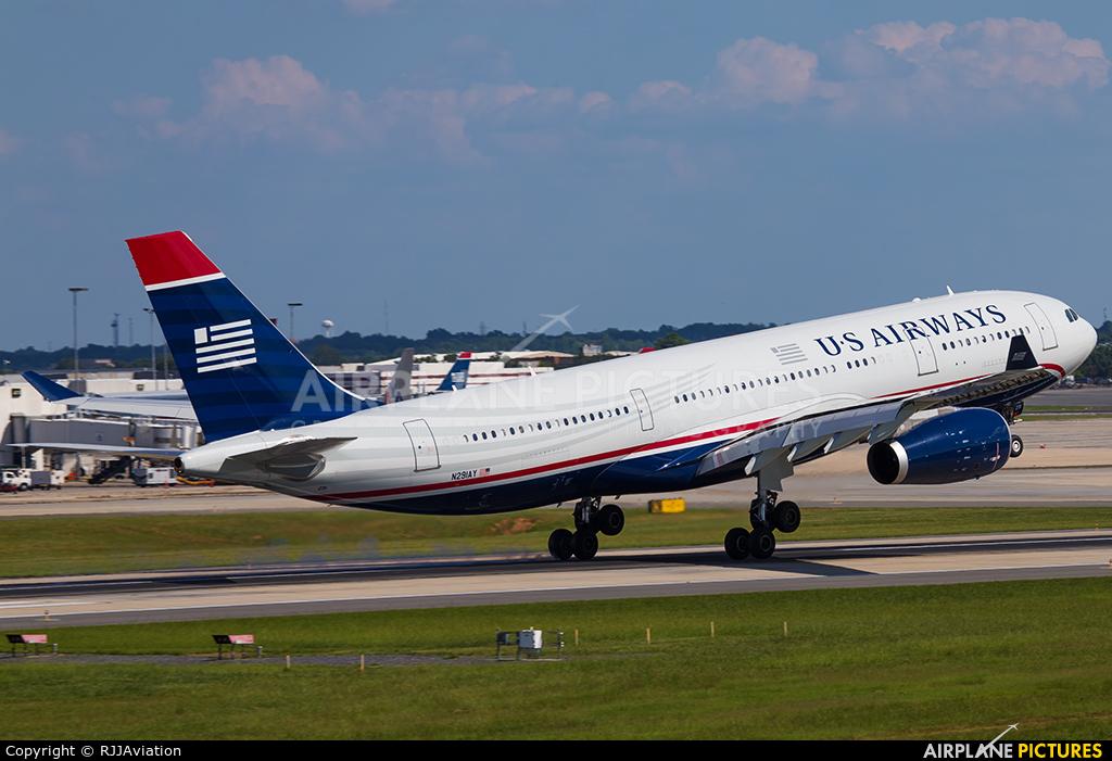 US Airways N291AY aircraft at Charlotte - Douglas Intl