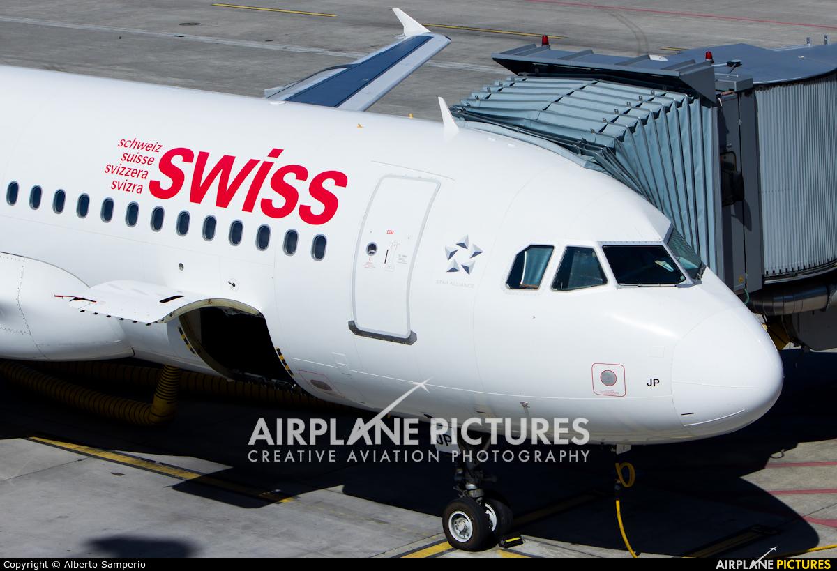 Swiss HB-IJP aircraft at Zurich