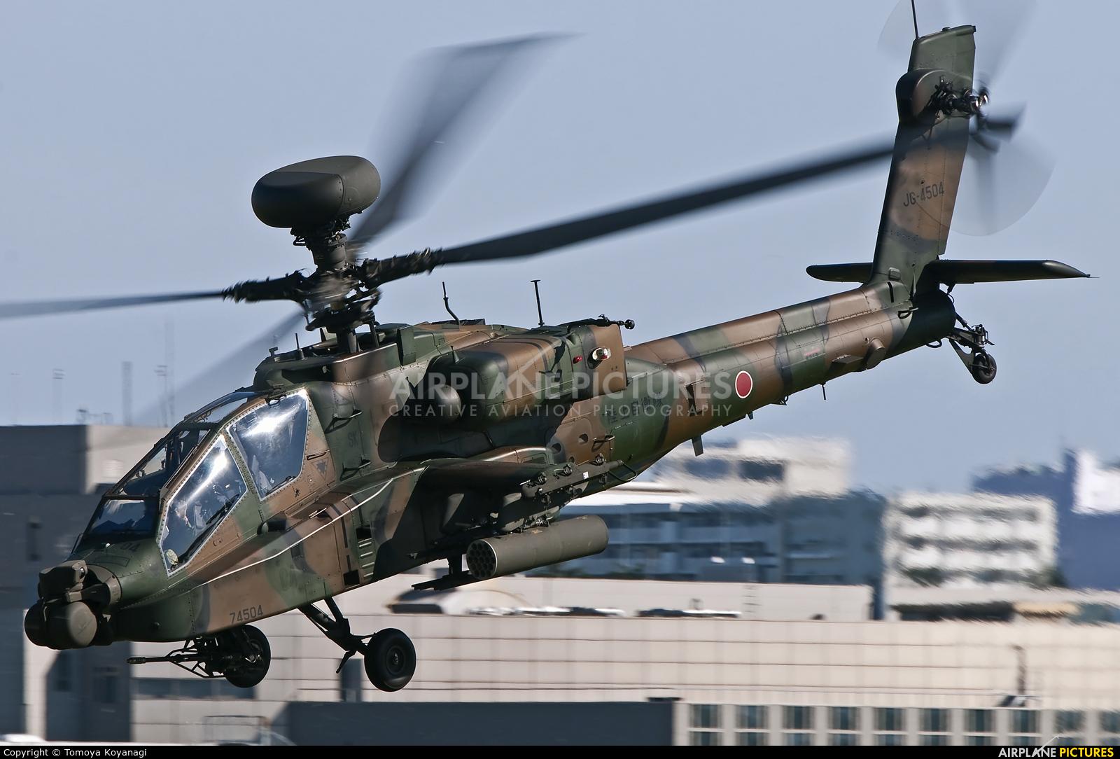 Japan - Ground Self Defense Force 74504 aircraft at Tachikawa