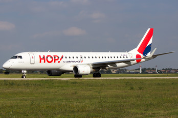 F-HBLE - Air France - Hop! Embraer ERJ-190 (190-100)