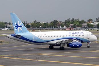 XA-LME - Interjet Sukhoi Superjet 100