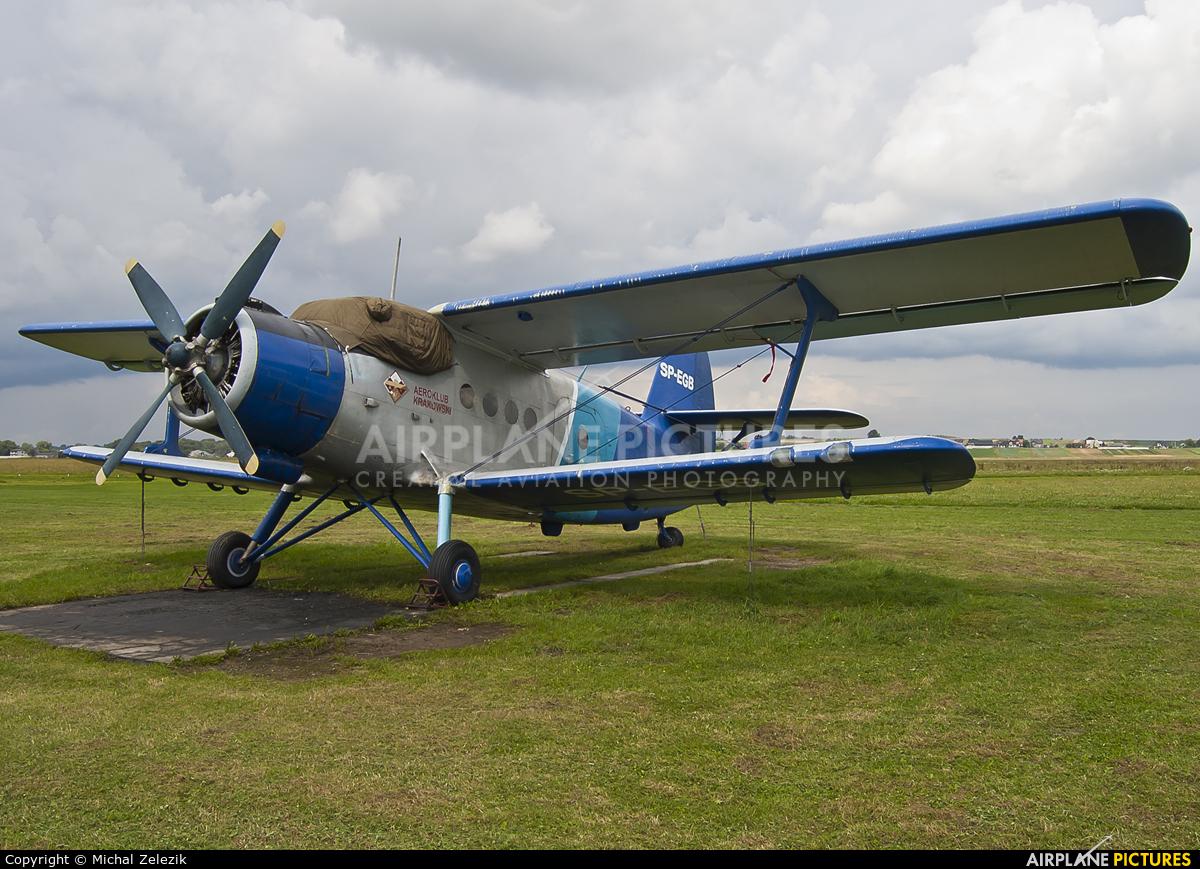 Aeroklub Krakowski SP-EGB aircraft at Kraków - Pobiednik Wielki