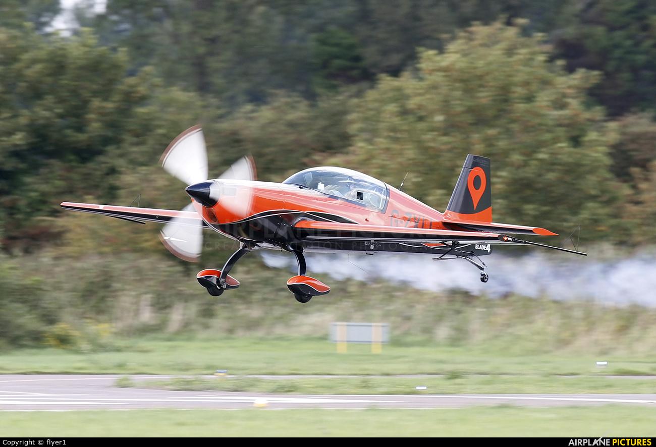 "2 Excel Aviation ""The Blades Aerobatic Team"" G-ZXLL aircraft at Brighton - Shoreham"