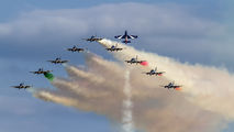 "MM55558 - Italy - Air Force ""Frecce Tricolori"" Aermacchi MB-339-A/PAN aircraft"