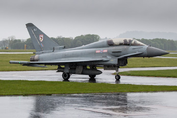 ZJ801 - Royal Air Force Eurofighter Typhoon T.3