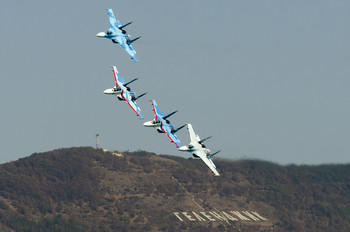 """- - Russia - Air Force """"Falcons of Russia"""" Sukhoi Su-27"""