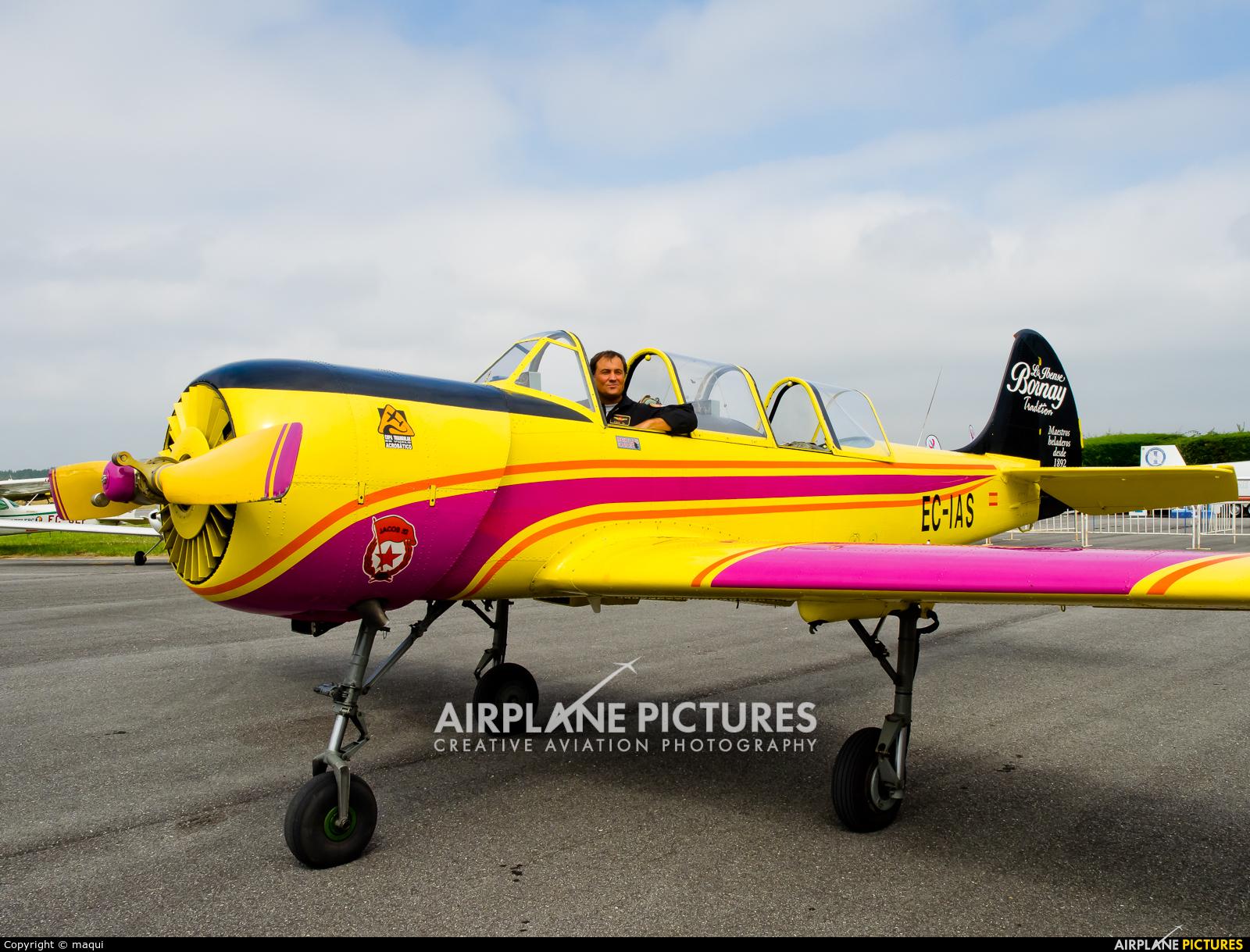 Private EC-IAS aircraft at Lugo - Rozas