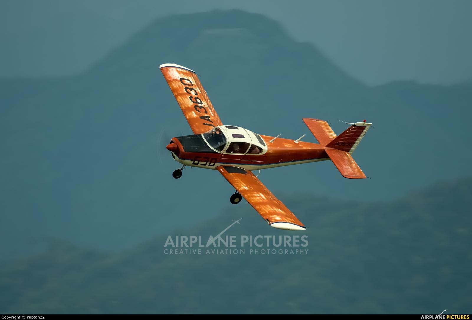 Private JA3630 aircraft at Tajima