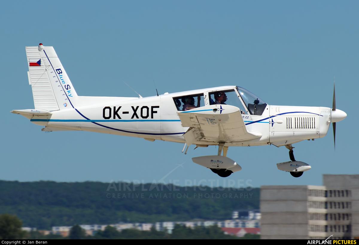 Blue Sky Service OK-XOF aircraft at Brno - Tuřany