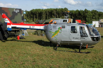 B-77 - Netherlands - Air Force MBB Bo-105CB