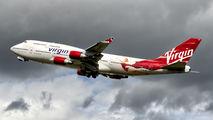 G-VFAB - Virgin Atlantic Boeing 747-400 aircraft