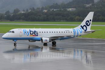 G-FBJD - Flybe Embraer ERJ-175 (170-200)