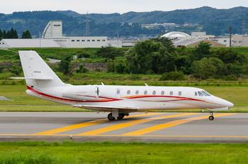 JA04AA - Aero Asahi Cessna 680 Sovereign