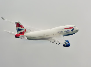 G-BYGC - British Airways Boeing 747-400